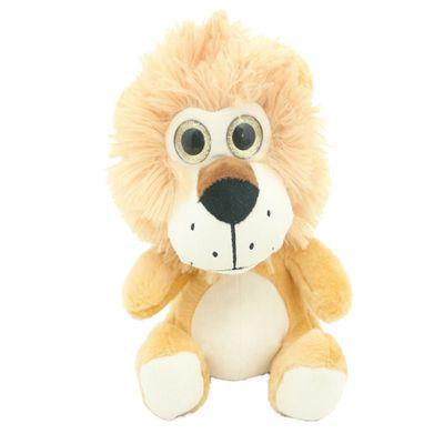 Pelúcia Animais Selvagens Visionários - Leão - 20 cm - Bee Me Toys