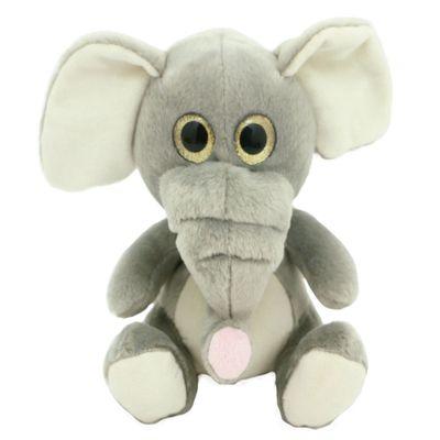 Pelúcia Animais Selvagens Visionários - Elefante - 20 cm - Bee Me Toys