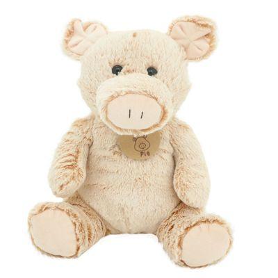 Pelúcia Animais Simpáticos da Fazenda - Porco - 26 cm - Bee Me Toys