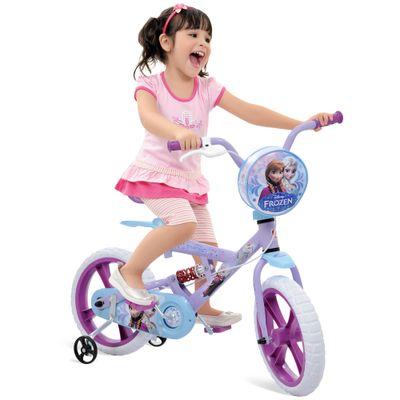 Bicicleta X-Bike Aro 14 - Disney Frozen - Bandeirante