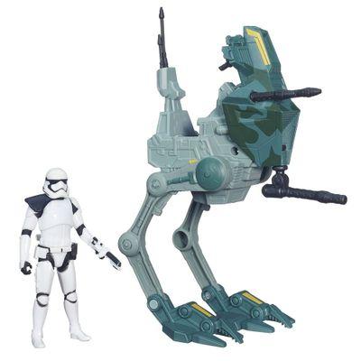 Veículo Classe I com Figura - Star Wars - Episódio VII - Assault Waker - Stormtrooper Sergent - Hasbro - Disney