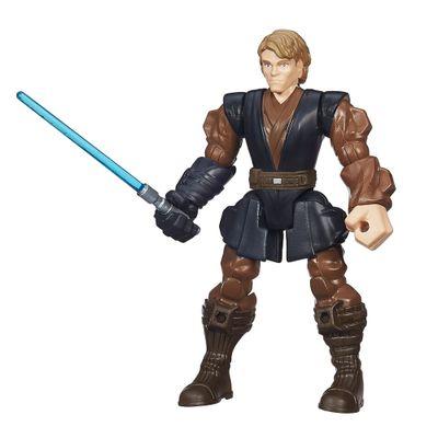 Boneco Transformável - 15 cm - Hero Mashers - Star Wars VII - Anakin Skywalker Jedi - Hasbro - Disney