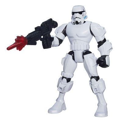 Boneco Transformável - 15 cm - Hero Mashers - Star Wars VII - Stormtrooper - Hasbro - Disney