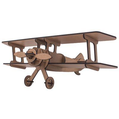Quebra-Cabeça 3D - Avião - 18 Peças - Pasiani Brinquedos
