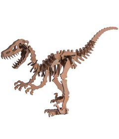 Quebra-Cabeca-3D---Dinossauro---Raptor---36-Pecas---Pasiani-Brinquedos