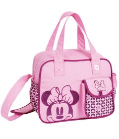 Bolsa-Media-com-Trocador-e-Bolso---Baby-Bag---Minnie---Disney---BabyGo