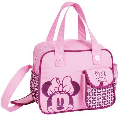 Bolsa Média com Trocador e Bolso - Baby Bag - Minnie - Disney - BabyGo