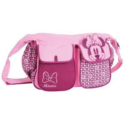 Bolsa Grande com Trocador - Baby Bag - Minnie - Disney - BabyGo