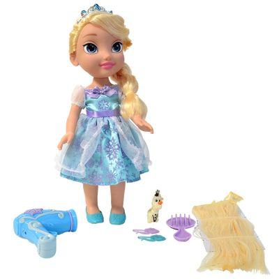 Boneca Disney Frozen - Elsa com Kit de Beleza - Sunny