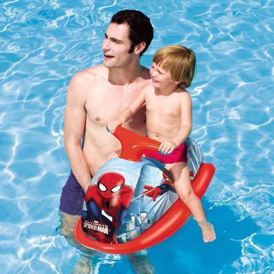 Bóia Inflável - Moto Jet Ski - Marvel Spider Man - New Toys - Disney