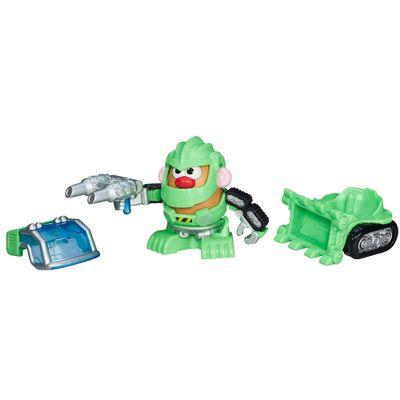 Mini Boneco Mr. Potato Head - Transformers com Acessórios - Robo de Construção - Hasbro