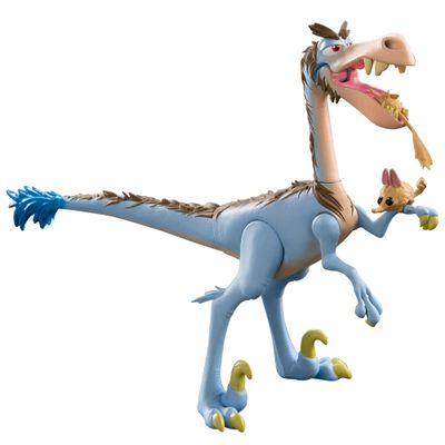 Figura Básica - 15cm - Disney - O Bom Dinossauro - Bubba com Bichinho - Sunny