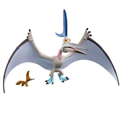 Figura Básica - 15cm - Disney - O Bom Dinossauro - Thunderclap com Bichinho - Sunny
