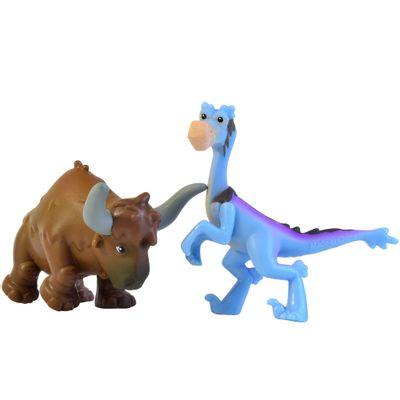 Pack Mini Figuras - 7cm - Disney - O Bom Dinossauro - Bubba e Bisodon - Sunny