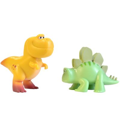 Pack Mini Figuras - 7cm - Disney - O Bom Dinossauro - Nash e Mary Alice - Sunny