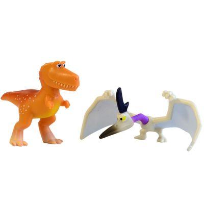 Pack Mini Figuras - 7cm - Disney - O Bom Dinossauro - Ramsey e Thunderclap - Sunny