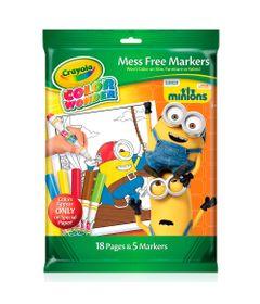 Refil-de-Folha-para-Colorir---Color-Wonder---Minions---Crayola