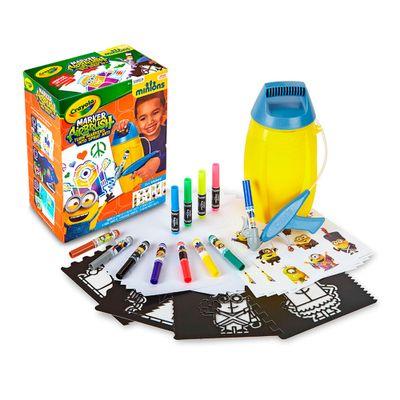 Marker Airbrush - Minions - Crayola