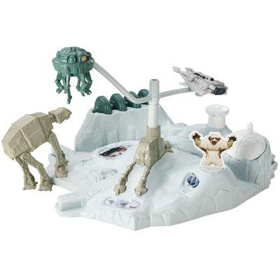 Playset-Hot-Wheels---Star-Wars-Hoth-Echo-Base---Mattel