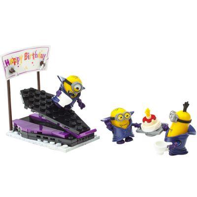 Playset-Mega-Bloks---Minions---Vampire-Surprise---Mattel