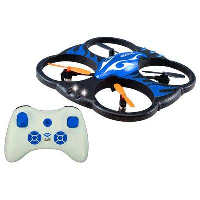 Quadricóptero de Controle Remoto - Smart Drone H18 - Azul - Candide