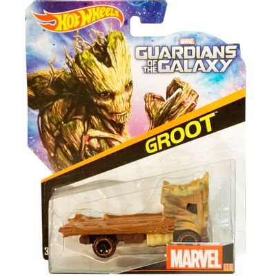 Carrinho-Hot-Wheels-Marvel---Groot---Mattel