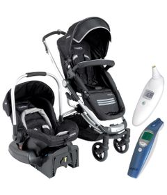 100117963-Kit-Travel-System-Eclipse-Kiddo-Preto-Termometros-Clinico-Digital-de-Ouvido-e-Termometro-Digital-de-Testa-G-Tech