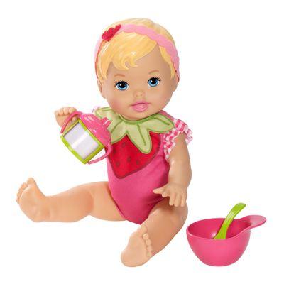 Boneca Little Mommy - Momentos do Bebê - Hora do Moranguinho - Mattel