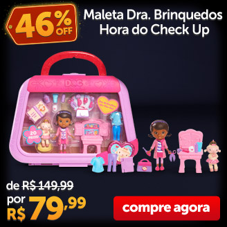 Maleta Dra. Brinquedos