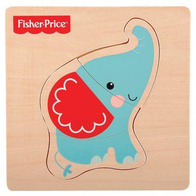 Meu Primeiro Quebra-Cabeça Animal - Elefante - Fisher-Price