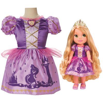 Boneca My First Disney Princess - Rapunzel com Fantasia - Mimo