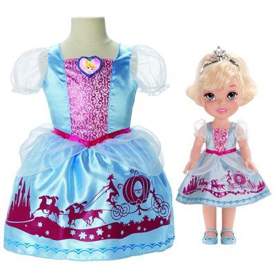 Boneca My First Disney Princess - Cinderela com Fantasia - Mimo