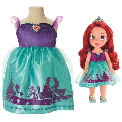 Boneca My First Disney Princess - Ariel com Fantasia - Mimo