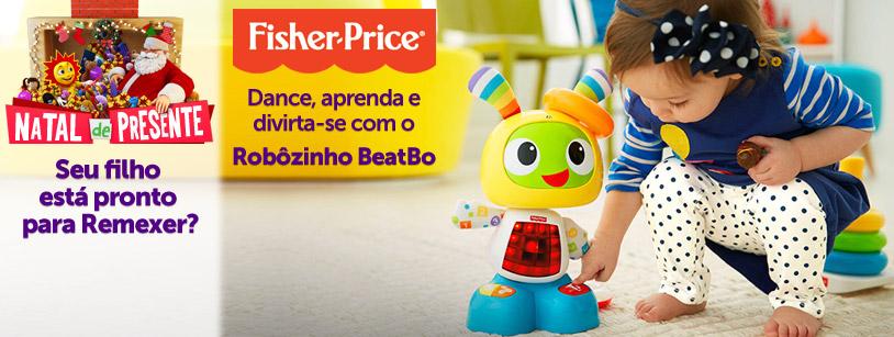 Robôzinho Beat Bo Fisher-Price