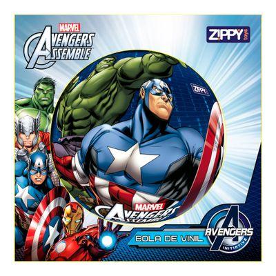 Bola de Vinil - Avengers - Marvel - Hulk e Capitão América - Zippy Toys