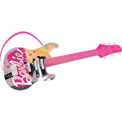 Guitarra Eletrônica de Luxo - Barbie Pop Star - Fun