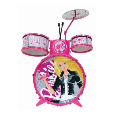 Bateria Infantil - Barbie Pop Star - Fun