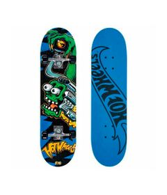 Skate-com-Acessorios-Hot-Wheels---Motor-Green---Fun