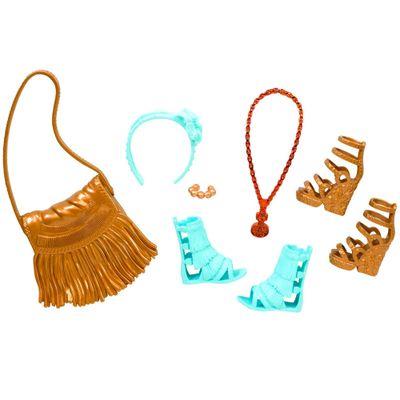 Acessórios Barbie - Bolsas e Sapatos - Serie - 3 - Mattel