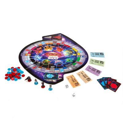 Jogo Monopoly - Edição Especial com Mini Figuras - Star Wars - Epidódio VII - Hasbro