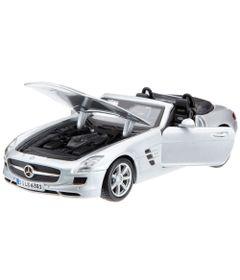 Carro-Mercedes-Benz-SLS-AMG-Roadster-Prata---Special-Edition---1-24---Maisto