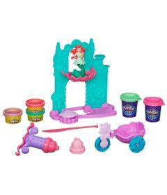 Conjunto-Play-Doh---Princesas-Disney---Castelo-da-Ariel---Hasbro