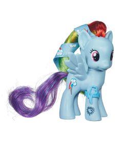 Mini-Figura-My-Little-Pony---Cutie-Mark-Magic---Rainbow-Dash---Hasbro