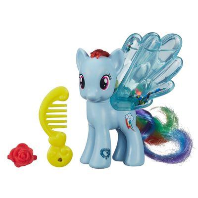 Mini Figura My Little Pony - Water Cuties - Rainbow Dash - Hasbro