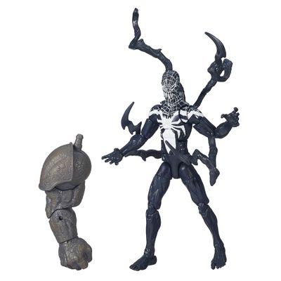 boneco homem aranha infinite legends 15 cm superior venon