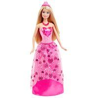 Boneca-Barbie-Princesa---Reinos-Magicos---Vestido-Rosa---Mattel