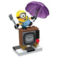 Playset-Mega-Bloks---Minions---Silly-TV---Mattel