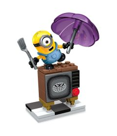Playset-Mega-Bloks---Minions---Silly-TV---Mattel