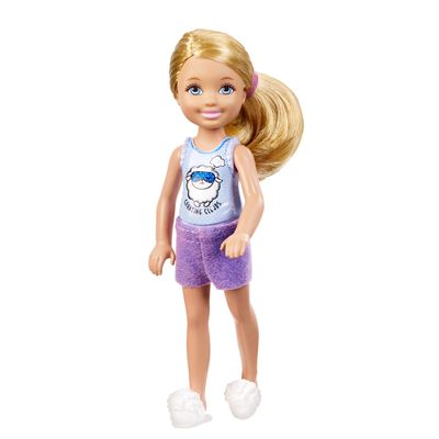 Boneca Chelsea - Família da Barbie - Festa do Pijama - Mattel