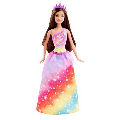 Boneca Barbie Princesa - Reinos Mágicos - Reino dos Arco-Íris - Mattel